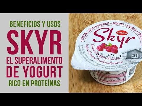 Qué es el Skyr y cómo tomarlo