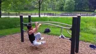 Freestyle dip-bars