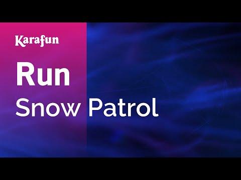Karaoke Run (Radio Edit) - Snow Patrol *