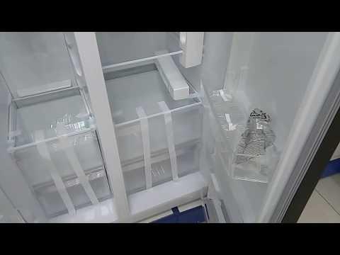Холодильник Kraft KF-MS3090X эргономика внутреннего пространства