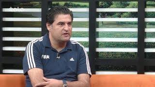 بامدادخوش - ورزشگاه - سید علی کاظمی در مورد سفر تیم ملی فوتبال و آغازلیگ برترافغانستان صحبت میکند