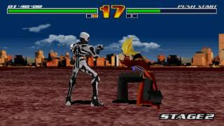 Fighter Maker Gameplay (PlayStation,PSX,PS1)