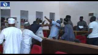 Fight In Nasarawa State Assembly Over Appointment Of Sole Administrators
