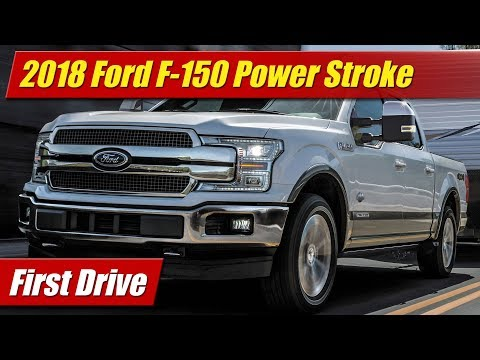 Ford F- Power Stroke Diesel: First Drive