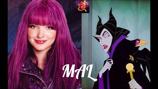 💙💜💚💛🧡 Descendants Parents and Children of Disney Villains and Heroes in English 🧡💛💚💜💙