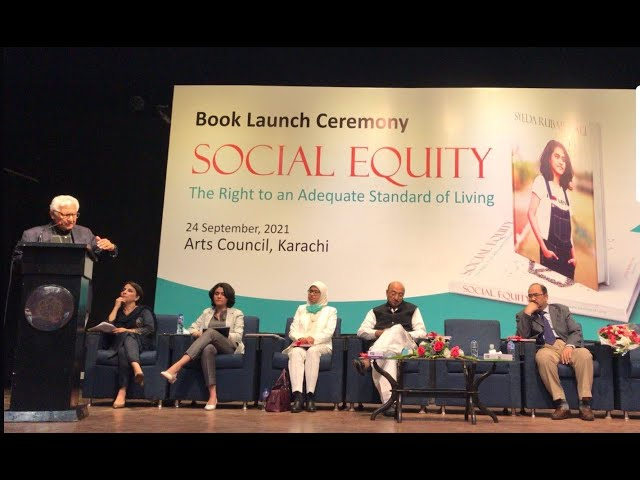 ACP Talks | Book Launch | SOCIAL EQUITY | Syeda Rubab Ali | #acpkhi #artscouncil #acptalks