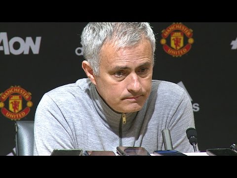 """His Body, My Brain"" Jose Mourinho on Luke Shaw FULL PRESS CONFERENCE"