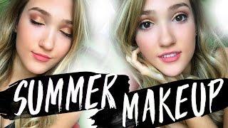 summer makeup tutorial 2016 glowy fresh makeup tutorial
