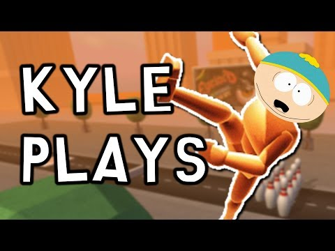 HAVING FUN WITH CARTMAN!!! :D | Kyle Plays: Turbo Dismount