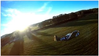 FPV Race Drone Vortex vs P51D