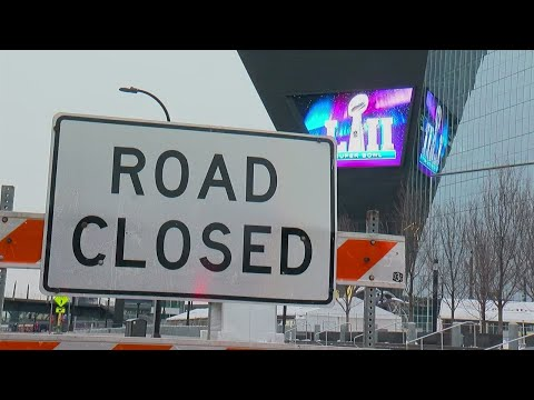 Super Bowl Transformation Begins In Downtown Minneapolis