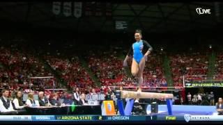 Peng-Peng Lee (UCLA) 2015 Beam Pac12 Championships 9.925