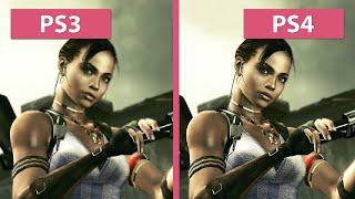 Resident Evil 5 – PS3 vs PS4 HD Graphics Comparison Biohazard バイオハザード5