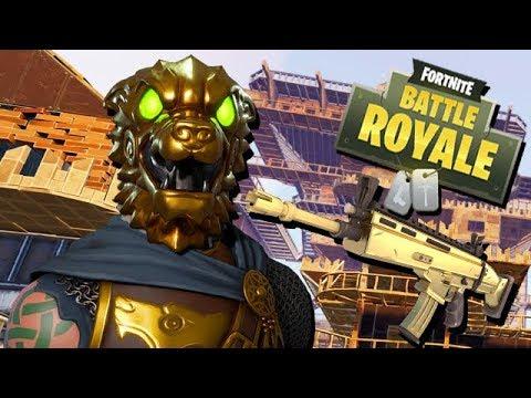 Schlachtenhund Legendary Skin - Fortnite Battle Royale Gameplay German