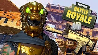 Schlachtenhund Legendary Skin - Fortnite Battle Royale Gameplay German