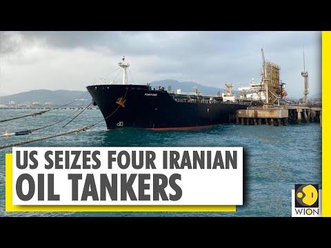 U.S. says seized four Iranian oil tankers en route to Venezuela