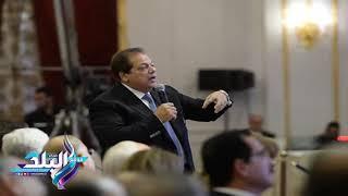 «أبو العينين»: الاقتصاد المصري يملك إمكانيات كبيرة للنمو.. و«التخصص الإنتاجي» بوابة لتنمية الاستثمار.... فيديو وصور