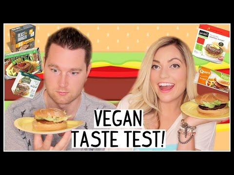 VEGAN BURGER TASTE TEST!