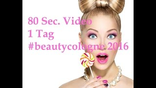 80 Sec BeautyCologne 2016 #beautycologne #abbaio
