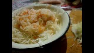 Быстрые пирожки с капустой (рецепт моей мамы)