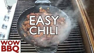 Weber Wok - Gourmet BBQ System - The Easiest Chilli Con Carne