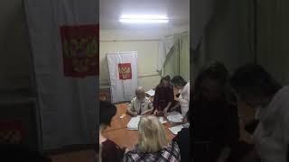 Нарушения ! Выборы 2018 . УИК 129 Ставрополь