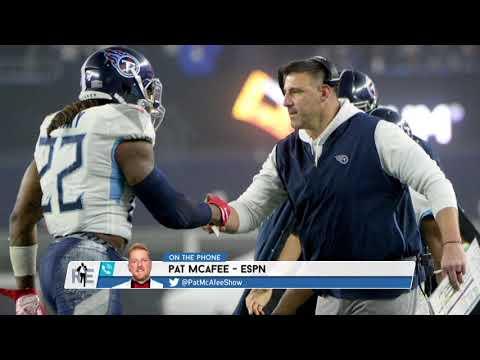 ESPN's Pat McAfee On The Titans' Chances Vs The Ravens | The Rich Eisen Show | 1/7/20