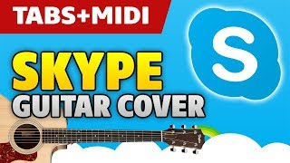 Skype Guitar Cover by Kaminari (solo acoustic fingerstyle Guitar Pro tabs and MIDI)