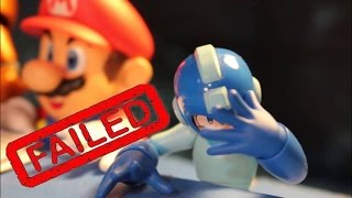 Super Smash Bros Wii U: Failed DLC Character Auditions