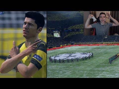 LEWANDOWSKI FACE SPECTACOL IN CARIERA cu BORUSSIA DORTMUND #14 / FIFA 19 ROMANIA