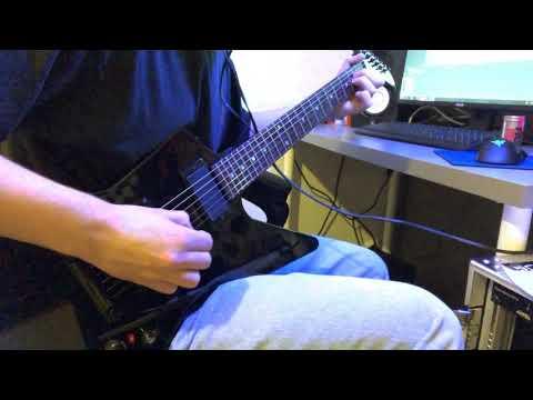 James Hetfield Clean Tone ( ESP Explorer, EMG 60, Axe Fx 2)