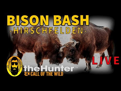 BISON BASH Subscriber Event! theHunter Call of the Wild! Live Stream