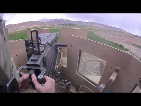Firefight, Mounted Patrol, Jaghatu, Wardak Afghanistan, June 2012