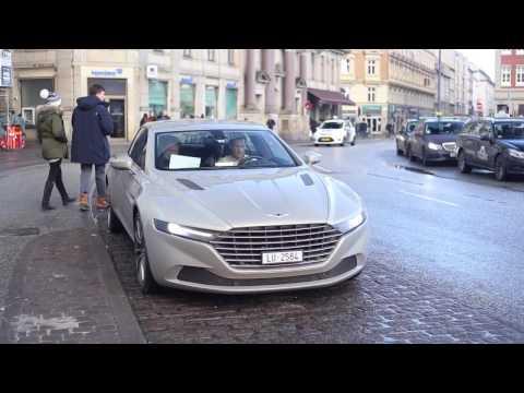 Lagonda Taraf in Copenhagen - Start´up and sounds