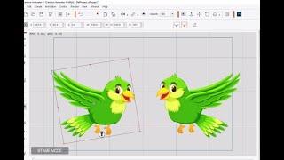 how to make bird cartoon animator 4 | cartoon animator 4 bird tutorial