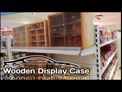 Wooden Display Case for Diecast   Trinoma (Vlog)