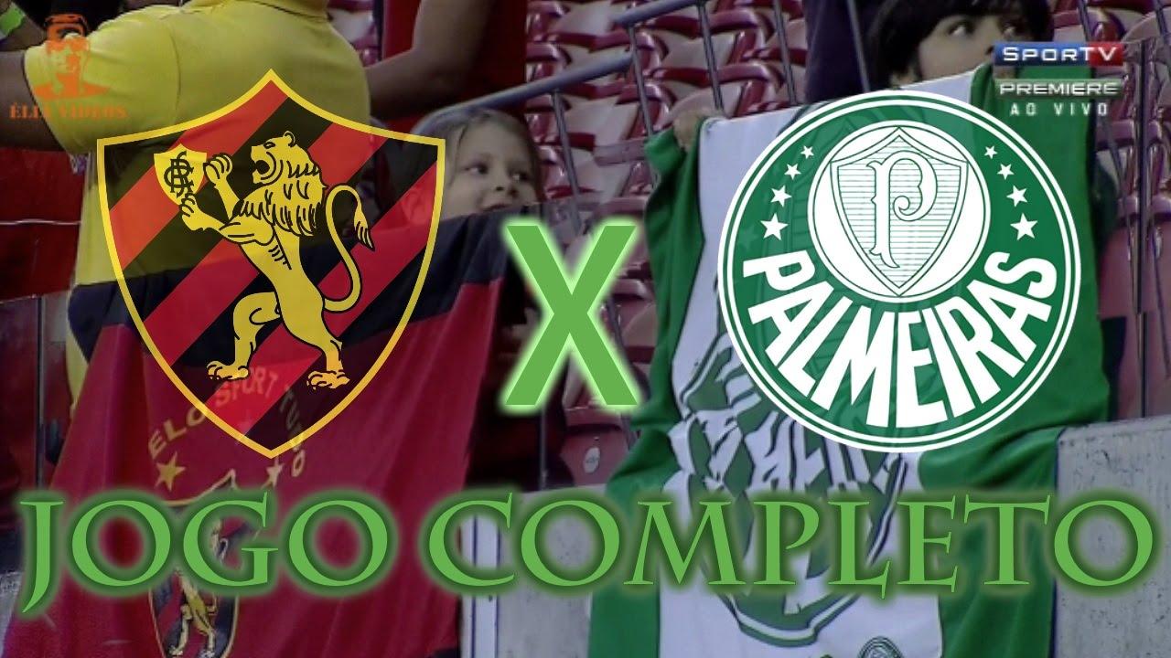 Sport x Palmeiras - Brasileirão 201? - Jogo Completo - YouTube
