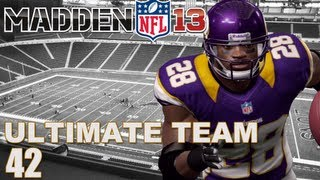 Madden 13 Ultimate Team : Rare Adrian Peterson Card Opening Ep.42