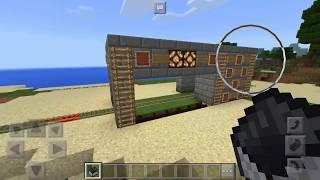 Minecraft: Cara Membuat Lampu dan Palang Kereta Otomatis