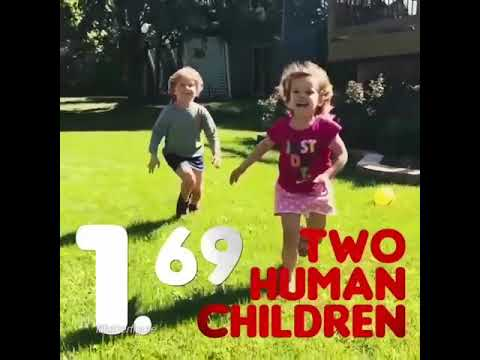 Two Human Children in Burger King