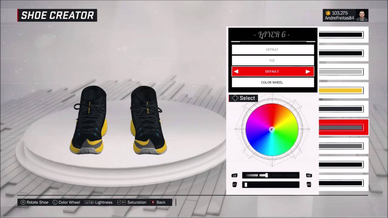 f79fc5d7fba0 NBA 2K17 BRASIL SHOES NIKE ZOOM CLEAR OUT BLACK AND YELLOW DRAYMOND GREEN