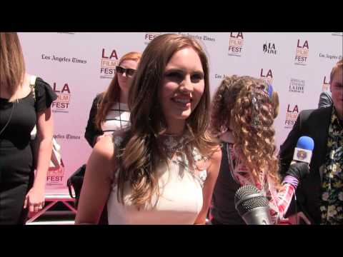 Ella Wahlestedt chats with YAH at Earth to Echo Premiere