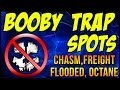 "COD: Ghosts - ""BOOBY TRAP SPOTS"" Chasm, Freight, Flooded, Octane ""DYNAMIC"" Map Locations 