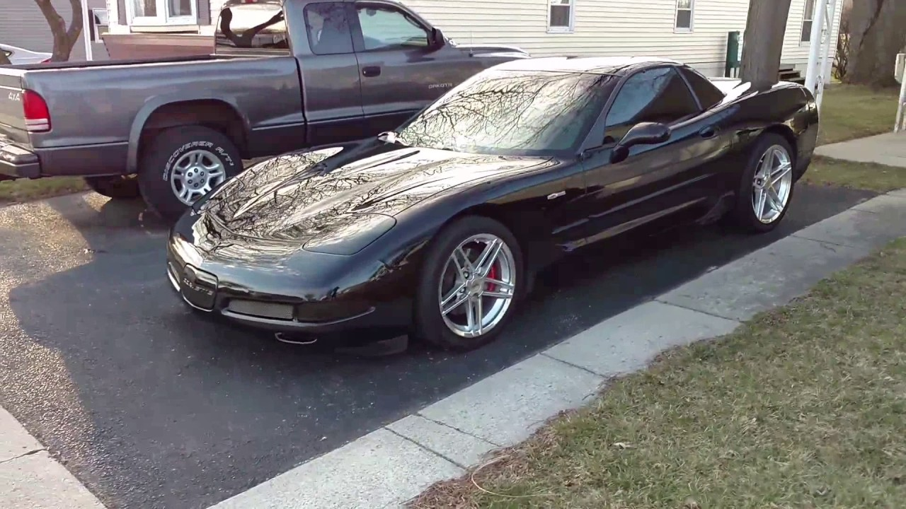 C7 Z06 Wheels On C5 >> Copy of C5 Z06 with C6 Z06 Wheels and Tires - YouTube
