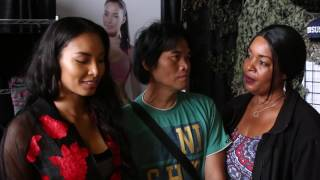 Martial Artist Nelita Villezon excited to share her apparel line VieBrant Athletics