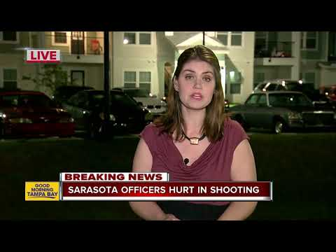 Two Sarasota police officers injured in officer-involved shooting at apartment complex