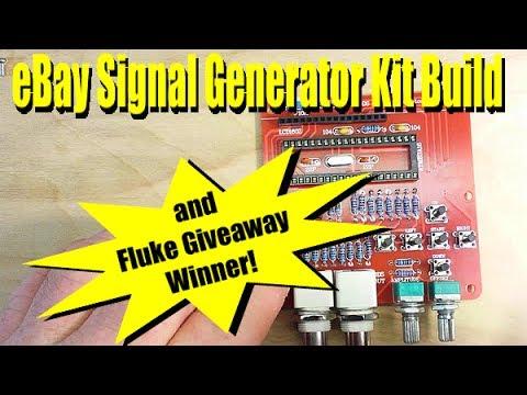 Ebay Signal Generator & Fluke DMM Winner