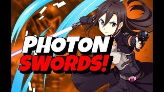 SAO: Fatal Bullet How to Get ALL Photon Sword Color AND Weapon Rank 7 Blades