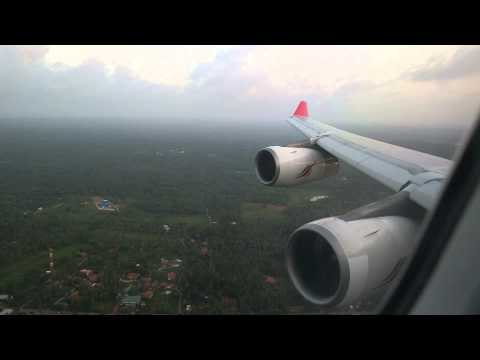 SriLankan Airlines A340-300 Landing in Colombo