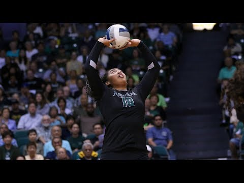 Rainbow Wahine Volleyball 2017 - Hawaii Vs UC Davis